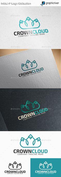 Crown Cloud - Royal Cloud  Logo Design Template Vector #logotype Download it here: http://graphicriver.net/item/crown-cloud-royal-cloud-logo/11093975?s_rank=1027?ref=nesto