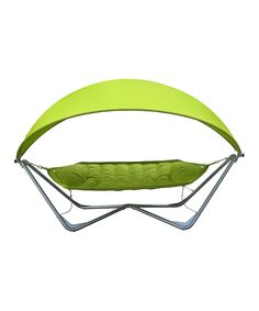 Loving this Green Deluxe Pod Hammock & Canopy on #zulily! #zulilyfinds