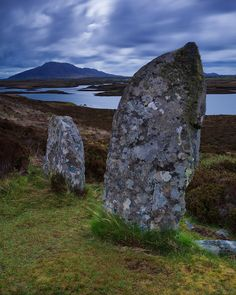 Langass Stone Circle, Isle Of Uist, Hebrides, Scotland © PortfolioInspiring