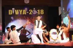 The crowd filled up with enthusiasm as the Narayan Seva Sansthan Team headed to the stage for the second time to dance on – Woh Kaun Hai from Bahubali. The audience tapped their feet in admiration of this peppy dance number which served as an Energy Booster. #Divya2018 #Divyangfashionshow #SuratDiaries #narayansevasansthan