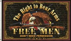 Army Surplus World carries a Right to bear arms flag that is 3'  x 5'.Order your  Right to bear arms flag from the Army Surplus  Superstore