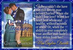 Guess Whats FREE!! TRIUMPH AND TREASURE Highland Heather Romancing a Scot book 1 ! Only until Feb. 19th though!  Heres your chance to grab this multi award-winning historical! .  A disillusioned Scottish gentlewoman. Angelina Ellsworth once believed in lovebefore she discovered her husband of mere hours was a slave-trader and already married. To avoid the scandal and disgrace she escapes to her aunt and uncles the Duke and Duchess of Waterford. When Angelina learns she is with child she vows…