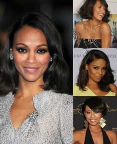 medium wavy hairstyle for black women with short extension clip on