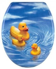 Cornat Duck Family KSD515 Toilet Seat Decoration
