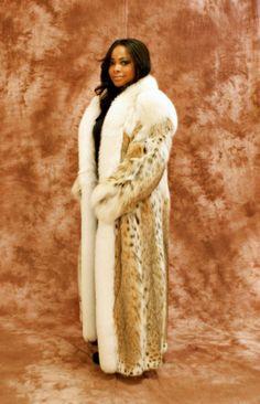 Lynx #fur coat http://www.fursbygartenhaus.com/