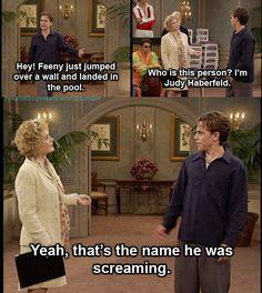 """""""George! It's Judy! Judy Haberfeld!"""""""