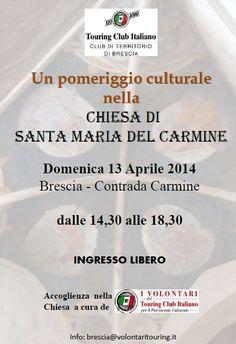 Chiesa di Santa Maria del Carmine con TCI http://www.panesalamina.com/2014/23639-chiesa-di-santa-maria-del-carmine-con-tci.html