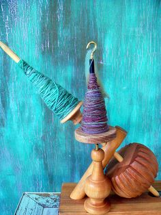Mother Marion Kick Spindle & Spindolyn by stelladanza's confections, via Flickr