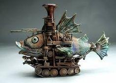 ceramic fish sculpture - Google Search