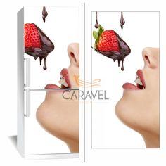 Αυτοκόλλητο Ψυγείου Φράουλα Strawberry, Fruit, Strawberry Fruit, Strawberries, Strawberry Plant