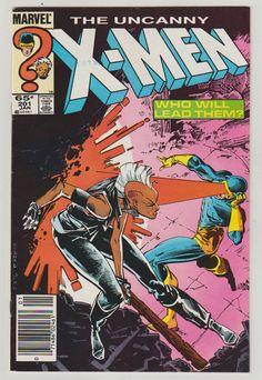 Uncanny X-Men Vol 1 201 Copper Age Comic by RubbersuitStudios #xmen #cable #comicbooks #etsy