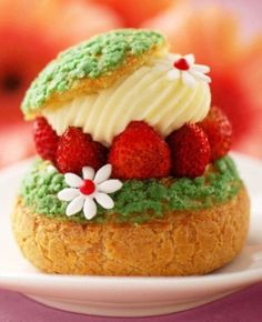 Perfect Springtime and Easter dessert!  Cut your puff pastry and pipe on Tastefully Simple Lemonade Fruit Dip and garnish with berries!  Quick, easy and elegant!  Order online:  www.tastefullysimple.com/web/jhartman3