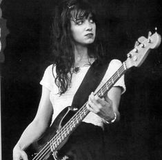 Kristen Pfaff  Bassist for Hole. Died of an overdose on June 16, 1994. She was soooooooooo pretty and gorgous.