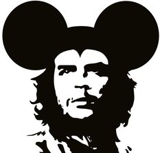 love this whimsical surreal concept art mash up of the two iconic images of che guevara and mickey mouse graffiti style art great for a print gift for dads , men , teens on a mug , wall art or tshirt surreal spectacles - Google Search