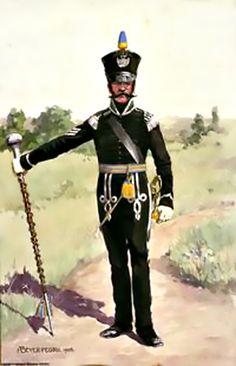 Tambour Major 2ème bataillon de ligne