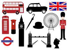 Londra Icone ClipArt