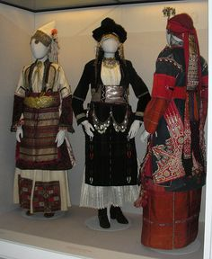 Greek Folk Costume, beautiful,  Benaki