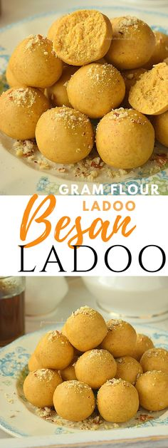 Besan Ladoo Recipe(Festive Ladoo Recipe) is part of Indian dessert recipes Besan Ladoo - Köstliche Desserts, Sweets Recipes, Delicious Desserts, Snack Recipes, Cooking Recipes, Vegetarian Recipes, Ramadan Recipes, Corn Recipes, Kitchen Recipes