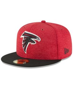 adf377c35ae New Era Boys  Atlanta Falcons On Field Sideline Home 59FIFTY Fitted Cap -  Red Black 6 1 2