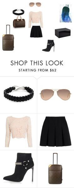 """""""Unbenannt #97"""" by c-stammer on Polyvore featuring Mode, Zack, Ray-Ban, Coast, Alexander Wang, Yves Saint Laurent und Louis Vuitton"""