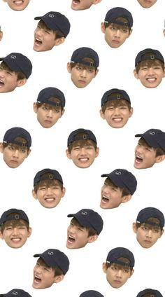 Read Funny Faces - 1 from the story [✰]; BTS Wallpapers by powervottom (hey, men! bts, wallpapers, k-pop. Bts Taehyung, Bts Got7, Bts Bangtan Boy, Kim Taehyung Funny, Bts Jungkook, Namjin, Bts V Photos, Bts Pictures, Bts Lockscreen