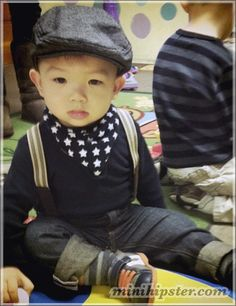 this with short sleeves  hipster little boy clothes - Google Search