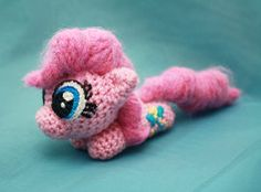 Pinkie Pie Floppy MLP Crocheted Plushie by ~TheHarley on deviantART