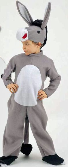 Resultado de imagen para disfraz de burro