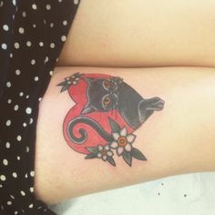 cat tattoo #ink #girly #tattoos #YouQueen