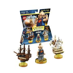 Lego Dimensions The Goonies Level Pack (Sloth, One-eyed Willie's Pirate Ship, Bone Organ, and The Goonies bonus level included)