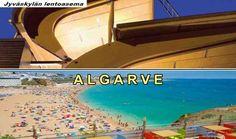 Jyväskylästä Algarveen Algarve