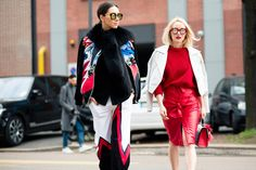 Spring pep with a statement jackets
