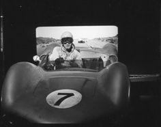 Viva las Vegas =  Elvis Presley - 1964 = Ferrari 250 GT Berlinetta on the left and the Elva MK VI car can be seen in a still from the movie