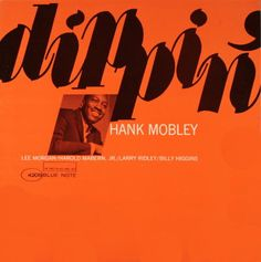 Hank Mobley. Blue Note. #jazz
