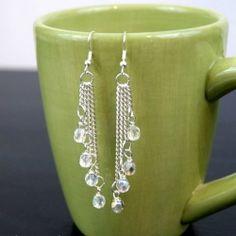 Cascade Dangle Earrings | Looksi Square
