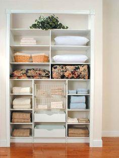 Linen closet ideas airing cupboard 54 Ideas for 2019 Airing Cupboard, Linen Cupboard, Bathroom Linen Closet, Closet Bedroom, Linen Closets, Master Closet, Reach In Closet, Build A Closet, Linen Closet Organization