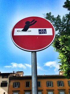 Clet in Florence