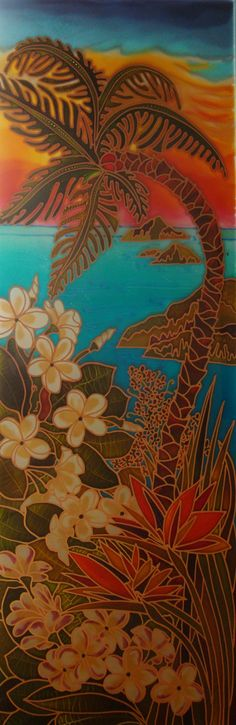 Jan wanted a Stained glass style panel to remind her of a very special holiday, I am really pleased with how this design has lovely tropical feel with the vibrant sun set. If you would like a bespoke piece of art which also adds a bright colorful finish get in touch via www.theglassorchard.com