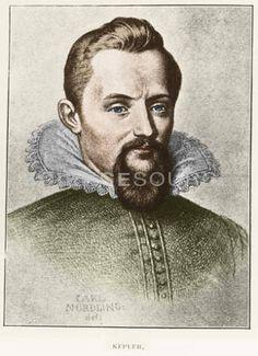 Johannes Kepler (December 27, 1571 – November 15, 1630)