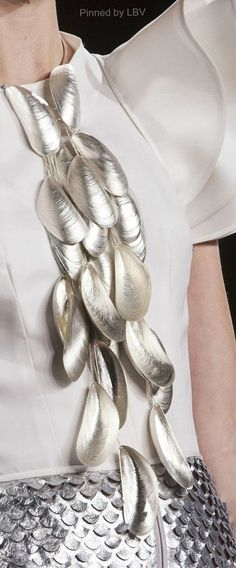 Cascading Mussels Necklace | LBV ♥✤