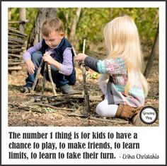 There was an excellent article posted on nprEd entitled What Kids Need From Grown-Ups (But Aren't Getting). The article is a summary o. The Number 1, Birds In The Sky, Backyard Playground, Could Play, Outdoor Play, Games To Play, Little Ones, Children, Kids