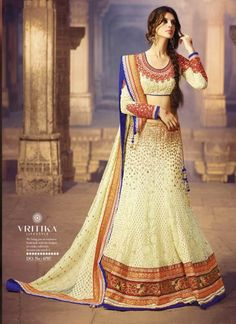 Yellow and lavender lehenga choli from New India Fashion