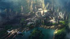 This is what Disneyland's Star Wars world will look like... maybe