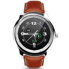 DM365 Bluetooth 4.0 Smart watch ,CEStore 360360 Pixel Super Slim Leather Strap Wristwatch with Pedometer/Sedentary Reminder/Anti Lost/Sleep Monitor/Voice Interactive/Remote Camera-Silver. BLUETOOTH SMART WATCH: Classic round dial design, IPS HD screen, 1.33-inch TFT, Capacitive touch screen, Dual UI interface. IOS & ANDROID SYSTEM SUPPORTED: Support IOS 7.0 Android 4.3 or above. IOS: Apple iPhone 4/4s/5/5c/5s/6/6s/6 Plus iPad, iPod. Android: Samsung Galaxy S7/S6/S6 Edge/S4/S5/Note3/Note 4...