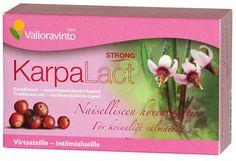 Terveystuotteet - Karpalact strong - karpalo-probiootti kapseli