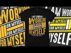 Typography fitness t shirt design by Adobe Illustrator CC - YouTube