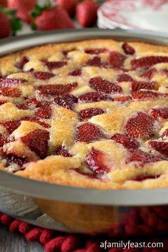 Strawberry Torte - A