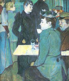 Toulouse-Lautrec - Corner of the Moulin de la Galette, 1892