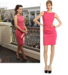love kate beckinsale. Nicole Miller dress