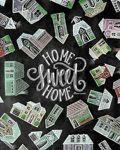 Ideas for home sweet hom sign chalkboard etsy Home Styles Exterior, Behind The Glass, Chalkboard Print, Barn Wood Frames, Kids Curtains, Trendy Home, At Home Gym, Chalk Art, Home Signs